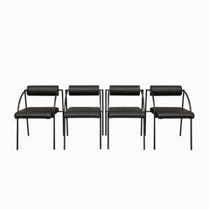 Dining Chairs by Rodney Kinsman for Bieffeplast, 1981, Set of 4