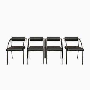 Esszimmerstühle von Rodney Kinsman für Bieffeplast, 1981, 4er Set