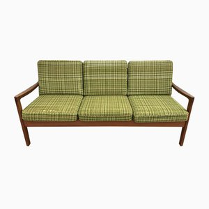 Danish Modern 3-Seater Senator Sofa by Ole Wanscher for Cado, 1960s