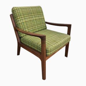 Danish Modern Senator Lounge Chairs by Ole Wanscher for Cado, 1960s, Set of 2