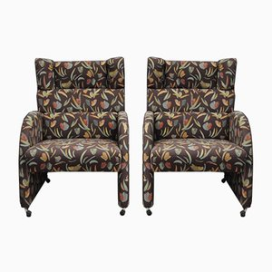Vintage Armchairs from Kinnarps, 1960s, Set of 2