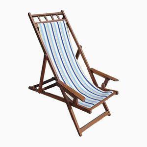 Silla reclinable vintage, años 40