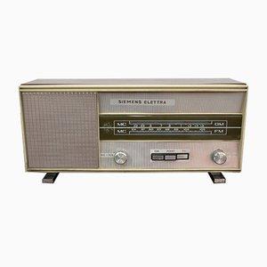 Italienisches Vintage Radio von Siemens, 1960er