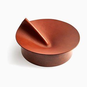 Großer Brauner Rotonda Behälter von Cara & Davide für Uniqka