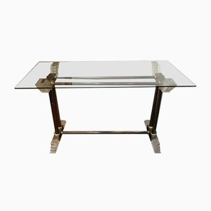 Vintage Methacrylate Console Table
