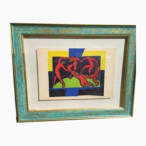 Lithographie Dance, Henri Matisse, 1939