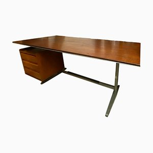 Mid-Century Italian Desk by Gio Ponti for Rima, 1950s