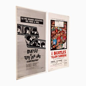 Beatles Filmplakate, 1968, 2er Set
