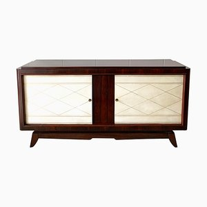 Art Deco Rosewood and Velum Sideboard