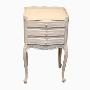French Painted Bedside Cabinet, 1920s