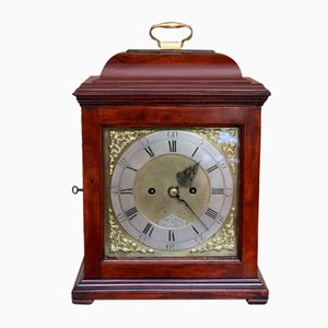Scottish Mahogany Bracket Clock