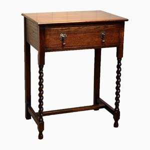 Oak Side Table, 1920s