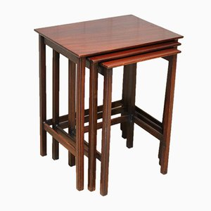Mahogany Nesting Tables, 1920s
