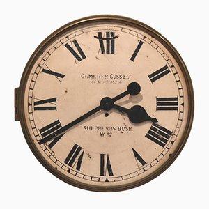 Große Zifferblatt Uhr, 1880er