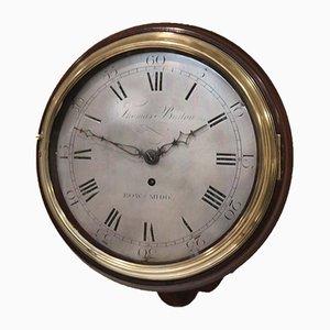 Frühe 10 Zoll Wanduhr, 1800er