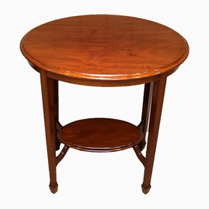Mahogany Oval Occasional Table, 1910s