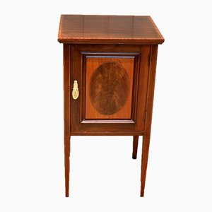 Single Mahogany Nightstand, 1920s