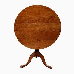 Georgian Oak Tilt Top Table