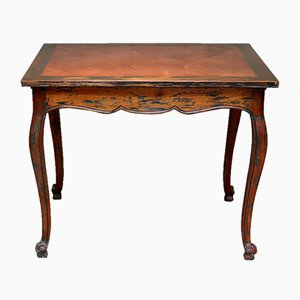Small Cherry Wood Table, 1930s
