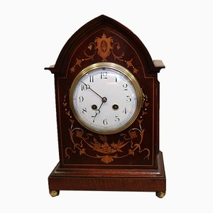 Mahogany & Inlay Mantel Clock, 1905