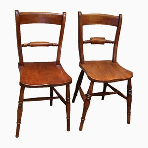 Antique Matched Windsor Chairs, Set of 8