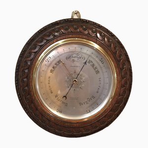 Substantial 13 Inch Aneroid Wall Barometer