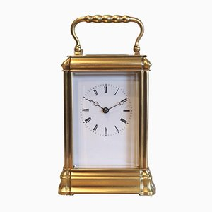 Horloge de Portage Bell Striking Gorge Case, France, 1880s