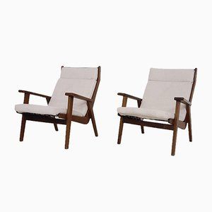Model 1611 Lounge Chairs by Rob Parry for Gelderland, the Netherlands, 1950s, Set of 2