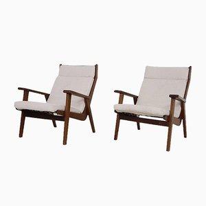 Modell 1611 Sessel von Rob Parry für Gelderland, Niederlande, 1950er, 2er Set