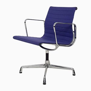 Purple EA107 Office Chair by Charles & Ray Eames for Vitra, USA, 1950s