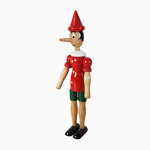 Pinocchio Toy Attributed to Tonna Toys, Italy, 1960s
