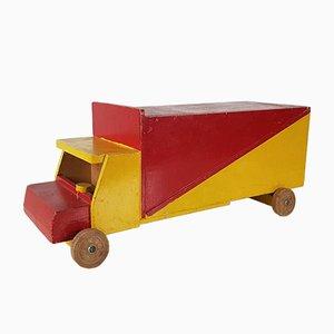 Vintage Spielzeugauto aus Holz Ko Verzuu für ADO, Niederlande, 1950er