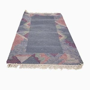 Vintage Indian Woolen Carpet