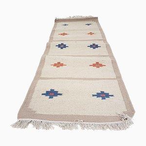 Vintage Indian Woolen Carpet