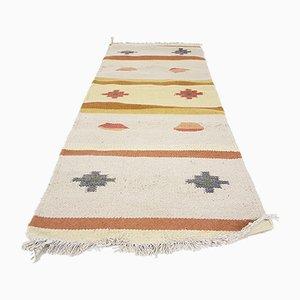 Indischer Vintage Teppich aus Wolle