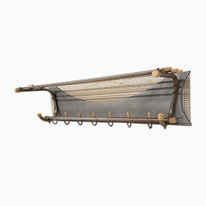 Metal Coat Rack in the Style of Pilastro