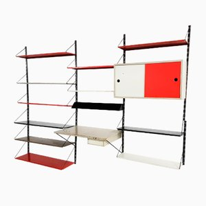 Dutch Modular Wall System by Tjerk Reijenga for Pilastro, 1950s