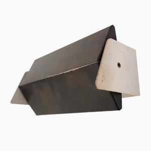 Schwarze Metall Wandleuchte von Anvia