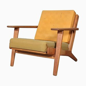 Oak Model 290 Lounge Chair by Hans J. Wegner for Getama, 1970s