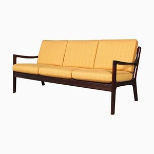 Vintage Senator 3-Seat Sofa by Ole Wanscher for Poul Jeppesen