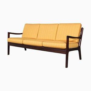 Vintage Senator 3-Sitzer Sofa von Ole Wanscher für Poul Jeppesen