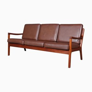 Vintage Senator 3-Seat Sofa by Ole Wanscher for Cado
