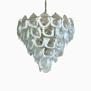 Vintage Murano Glass Chandelier, 1979