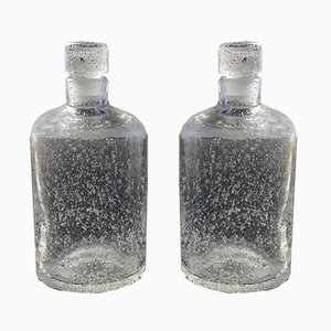 Vintage Bullé Bottles from Daum Nancy, Set of 2