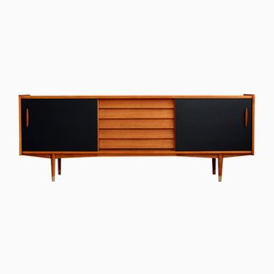 Scandinavian Modern Teak Sideboard by Nils Jonsson for Hugo Troeds, 1960s