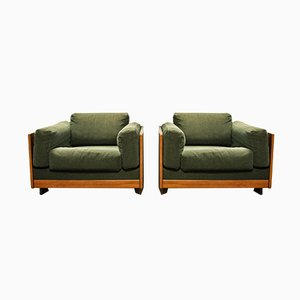 Italian Sofa and Chairs Set by Tobia & Afra Scarpa for Cassina, 1966, Set of 2