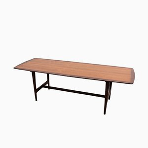 Scandinavian Teak Rosewood Coffee Table from Ilse Möbel, 1950s