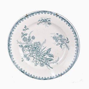 Antique Decorative Plate from St Amandinoise
