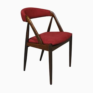 Mid-Century Rosewood Dining Chairs by Kai Kristiansen for Schou Andersen, Set of 6