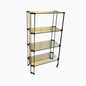 Vintage Glass Cabinet by Peter Ghyczy